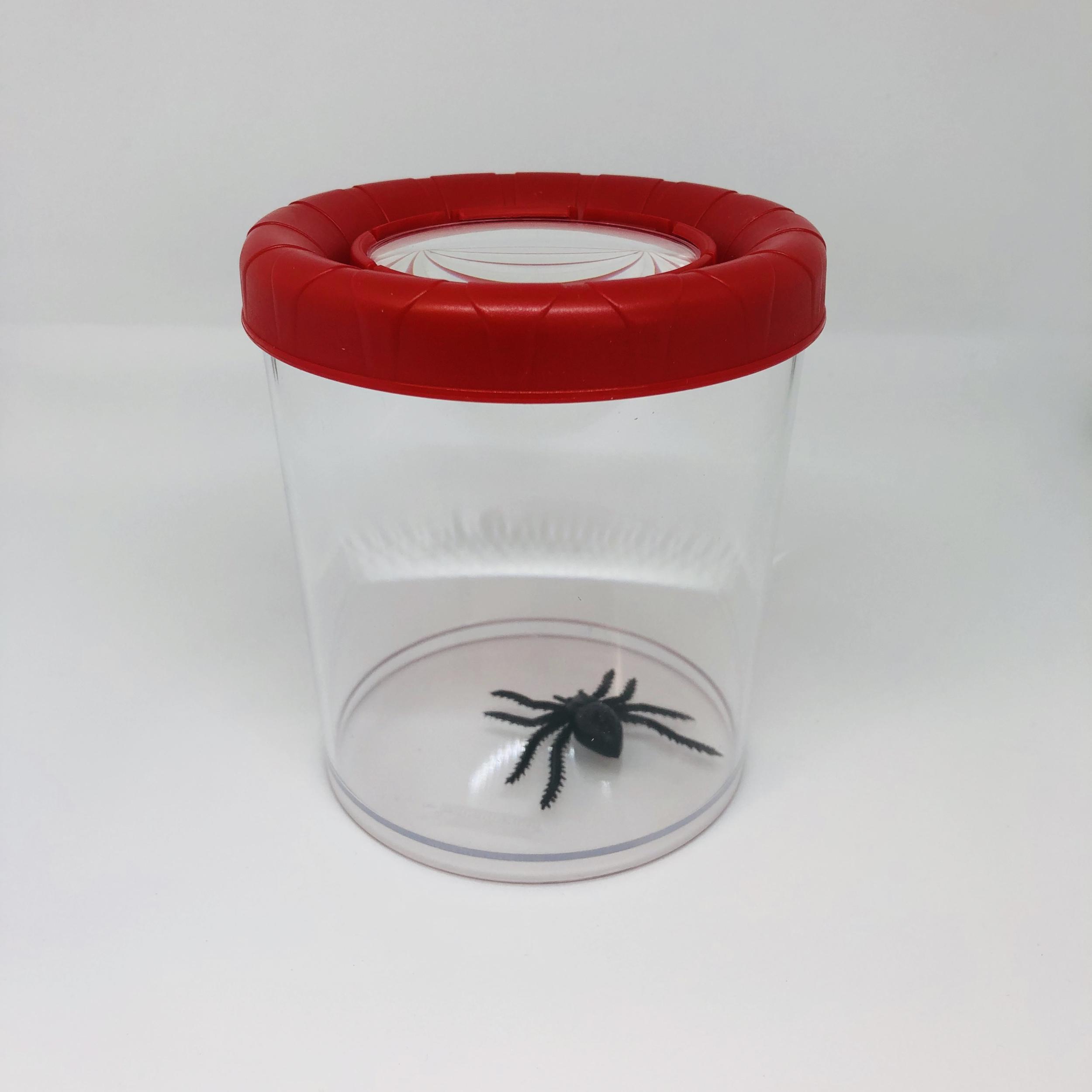 Méga boîte loupe insecte Navir rouge