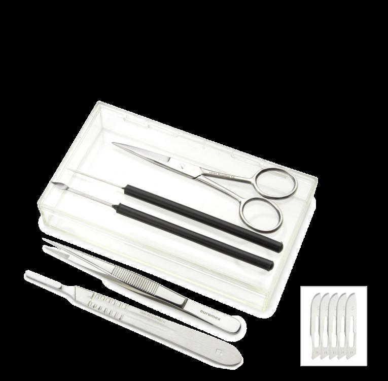Trousse de dissection avec scalpel (PB.5111)