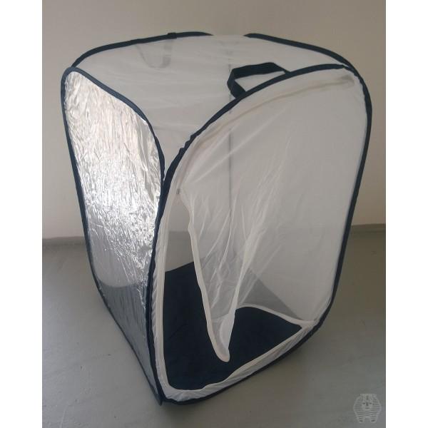 Cage d\'élevage d\'insectes 60x60x90 cm