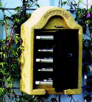 Nichoir à osmies - Forme boîte aux lettres