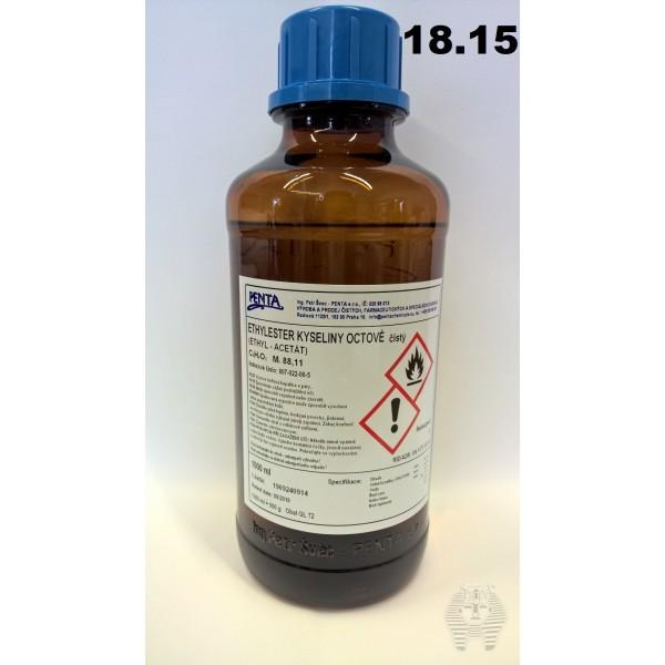Acétate d'éthyle bouteille 1 litre