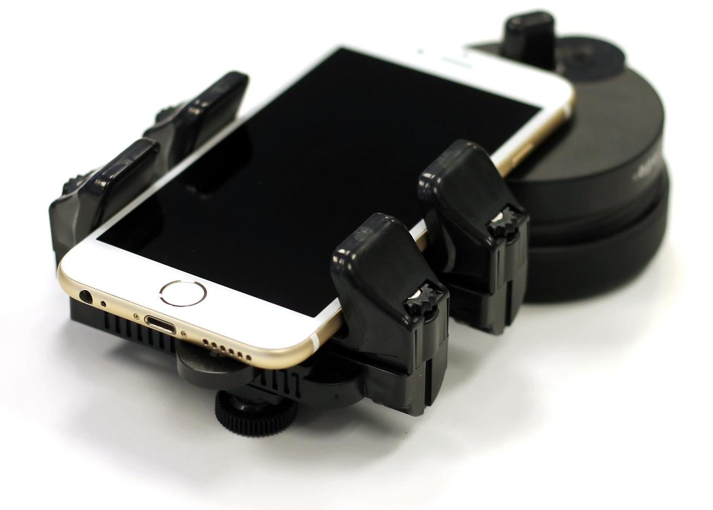 Adaptateur Novagrade Double Gripper pour smartphone