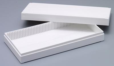 Boîte de rangement pour 100 préparations microscopiques