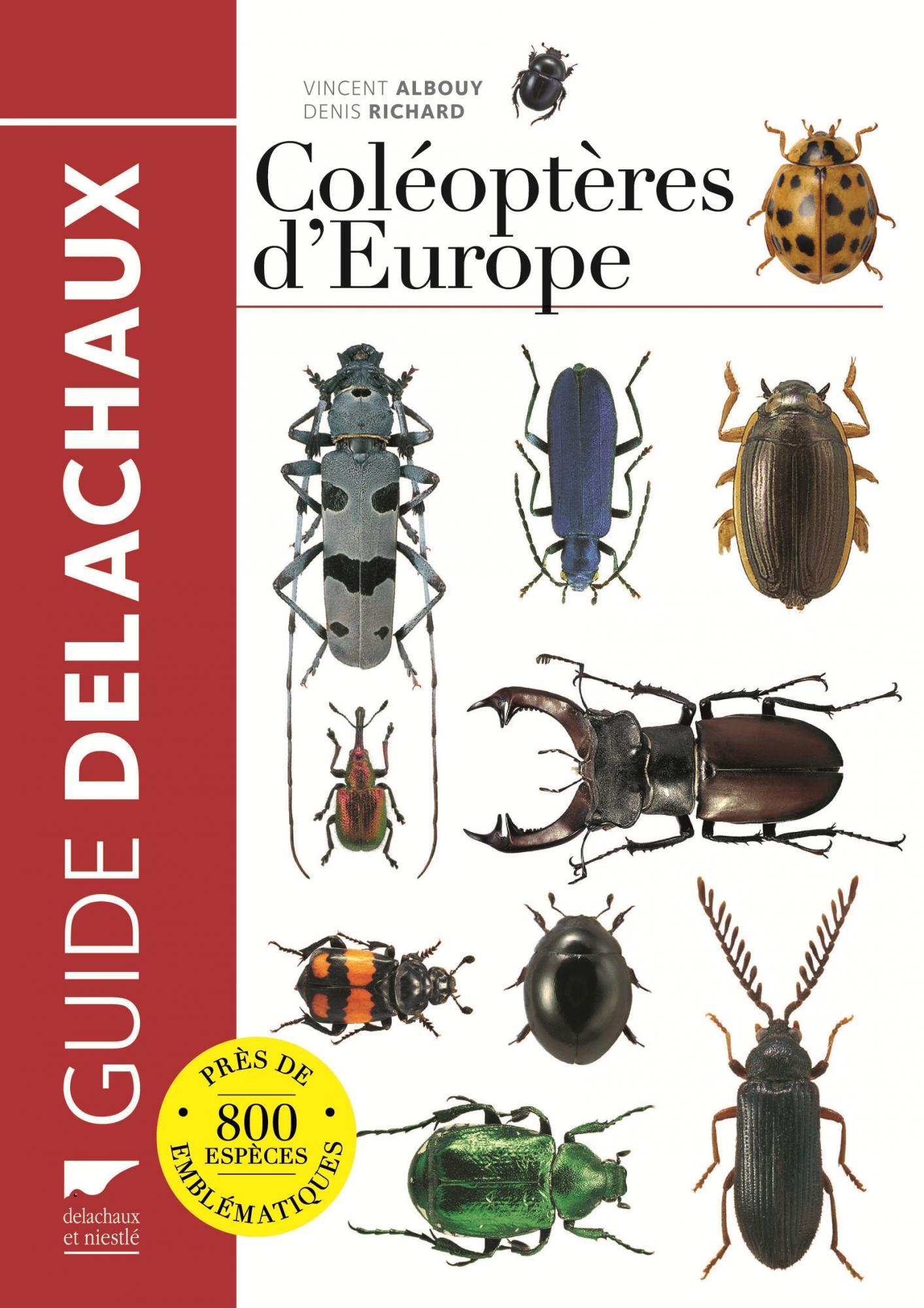 Guide des coléoptères d\'Europe