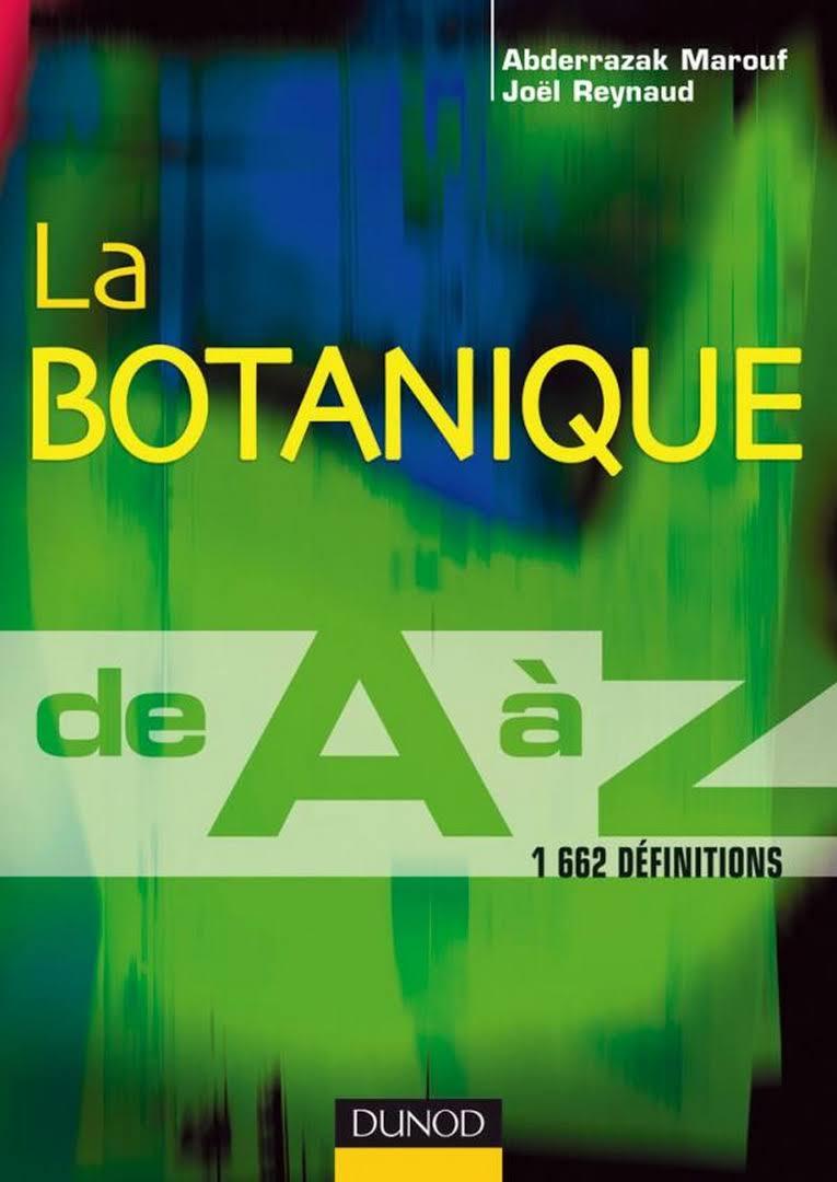 La botanique de A à Z