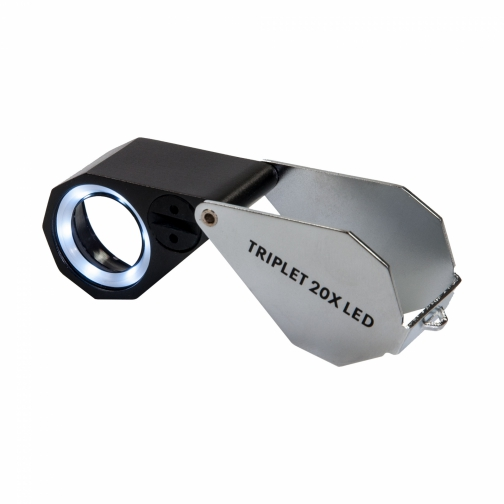 Loupe Kite Triplet 20X + LED