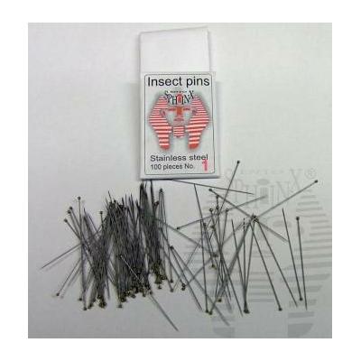 Épingles entomologiques inox
