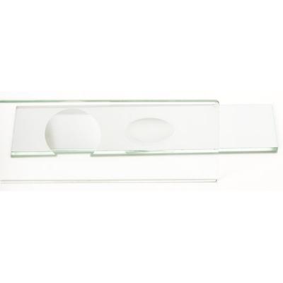 Lames porte-objets 76x26mm avec concavité et polis (PB.5160)