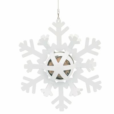 Distributeur de boules de graisse - Étoile de neige Blanche