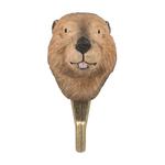 Patere-crochet-wildlifegarden-castor-face