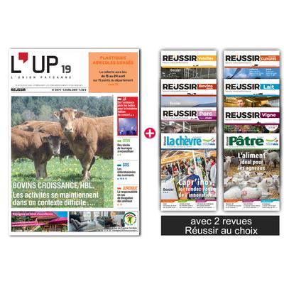L'Union paysanne + 2 revues Réussir