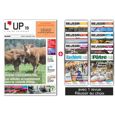 L'Union paysanne + 1 revue Réussir