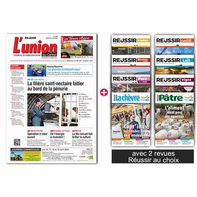 L'Union du Cantal + 2 revues Réussir
