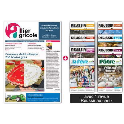 L'Allier Agricole + 1 revue Réussir