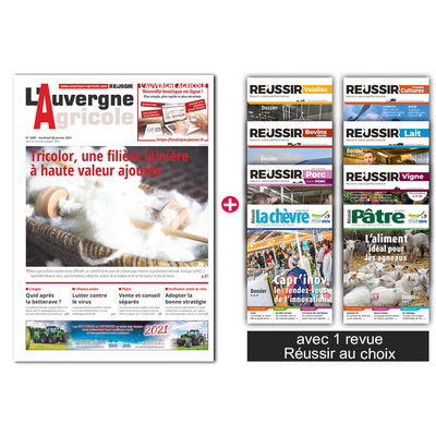 L'Auvergne agricole + 1 revue Réussir