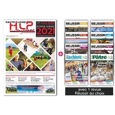 La Haute-Loire paysanne + 1 revue Réussir