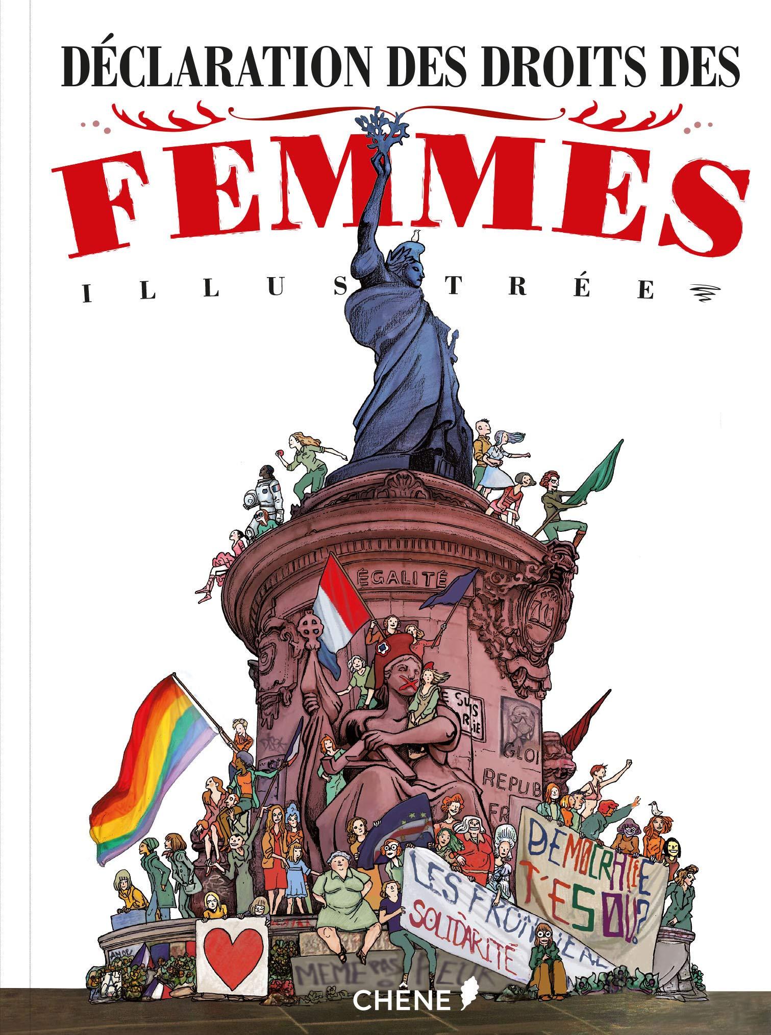 Déclaration des droits de la femme illustrée