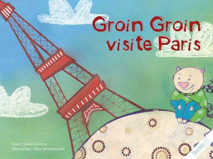 Groin-Groin visite Paris de Julien Leclercq