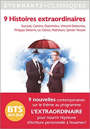 9 Histoires extraordinaires de Didier Daeninckx
