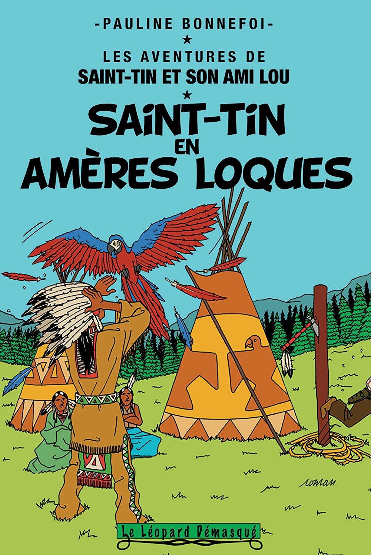 Les aventures de Saint-Tin et son ami Lou tome 15 Saint-Tin en amères loques de Pauline Bonnefoi