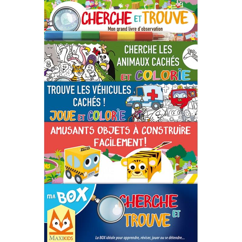 Ma Box Cherche Et Trouve Jeunesse 4 7 Ans Yakabooks