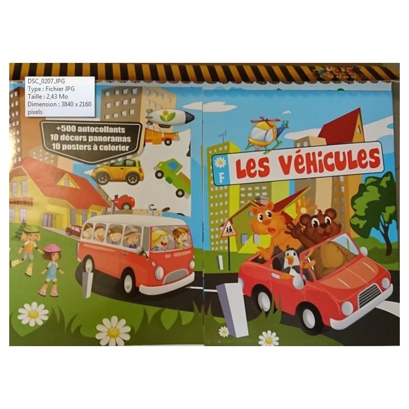 activites-jeux-coloriages-les-vehicules-9782754217729