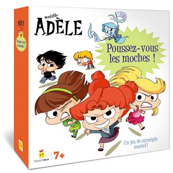 Mortelle Adèle - Jeu Mortelle Adèle : Poussez-vous les moches !