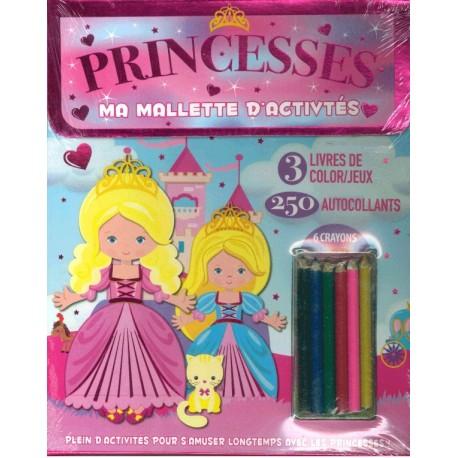 Ma mallette d\'activités Princesses