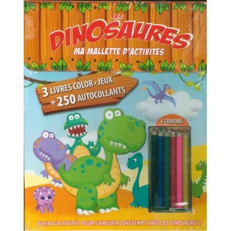 Ma mallette d\'activités Les Dinosaures