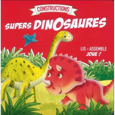 Supers dinosaures à assembler
