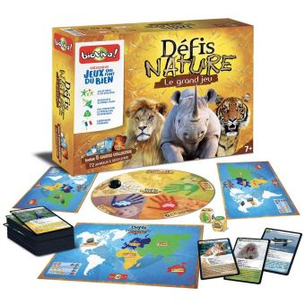 GD JEU DEFIS NATURE + CARTES BIOVIVA