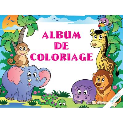 Album de coloriage des animaux