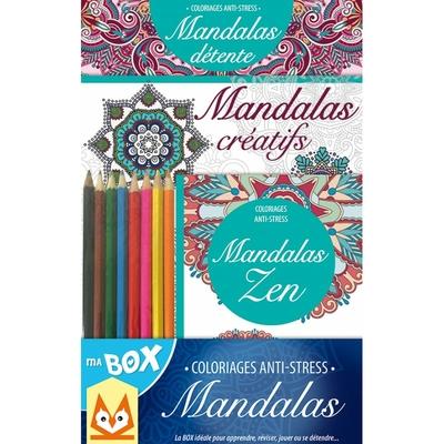 Ma Box Coloriages anti-stress Mandalas