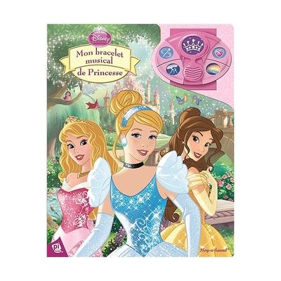 Disney Mon bracelet musical de Princesse Les grands musi-livres à jouer 22