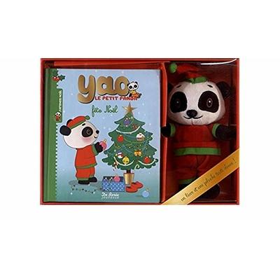 Yao le petit panda fête Noël : Coffret livre + peluche