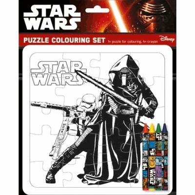 Puzzle Star Wars à colorier