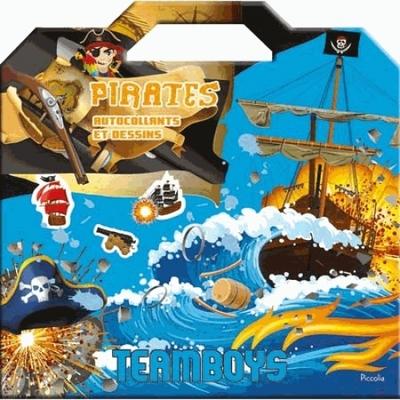 Pirates: autocollants et dessins.