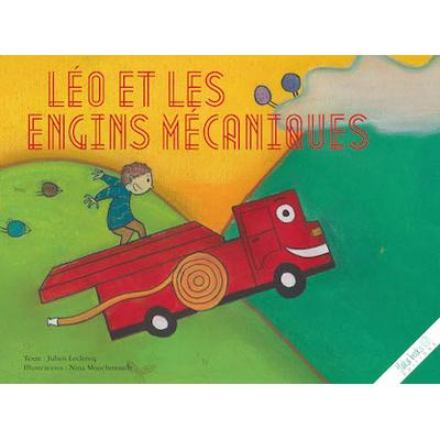 Léo et les engins mécaniques de Julien Leclercq