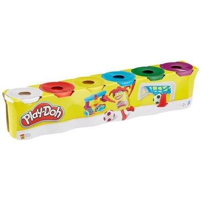 Play-Doh 6 pots de pâte à modeler