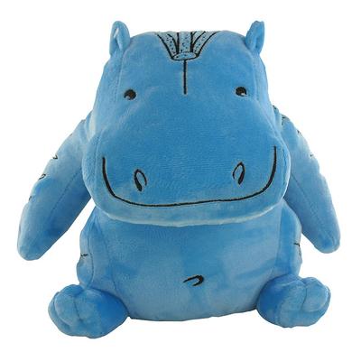 Peluche Hippopotame bleu