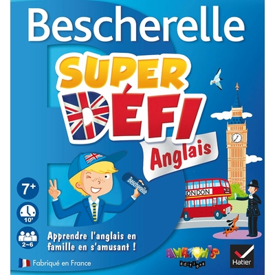 France Cartes Super défi Anglais Bescherelle