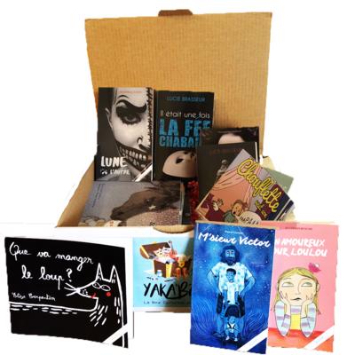 YaKa'Box le coffret cadeau culturel des familles avec 22 livres