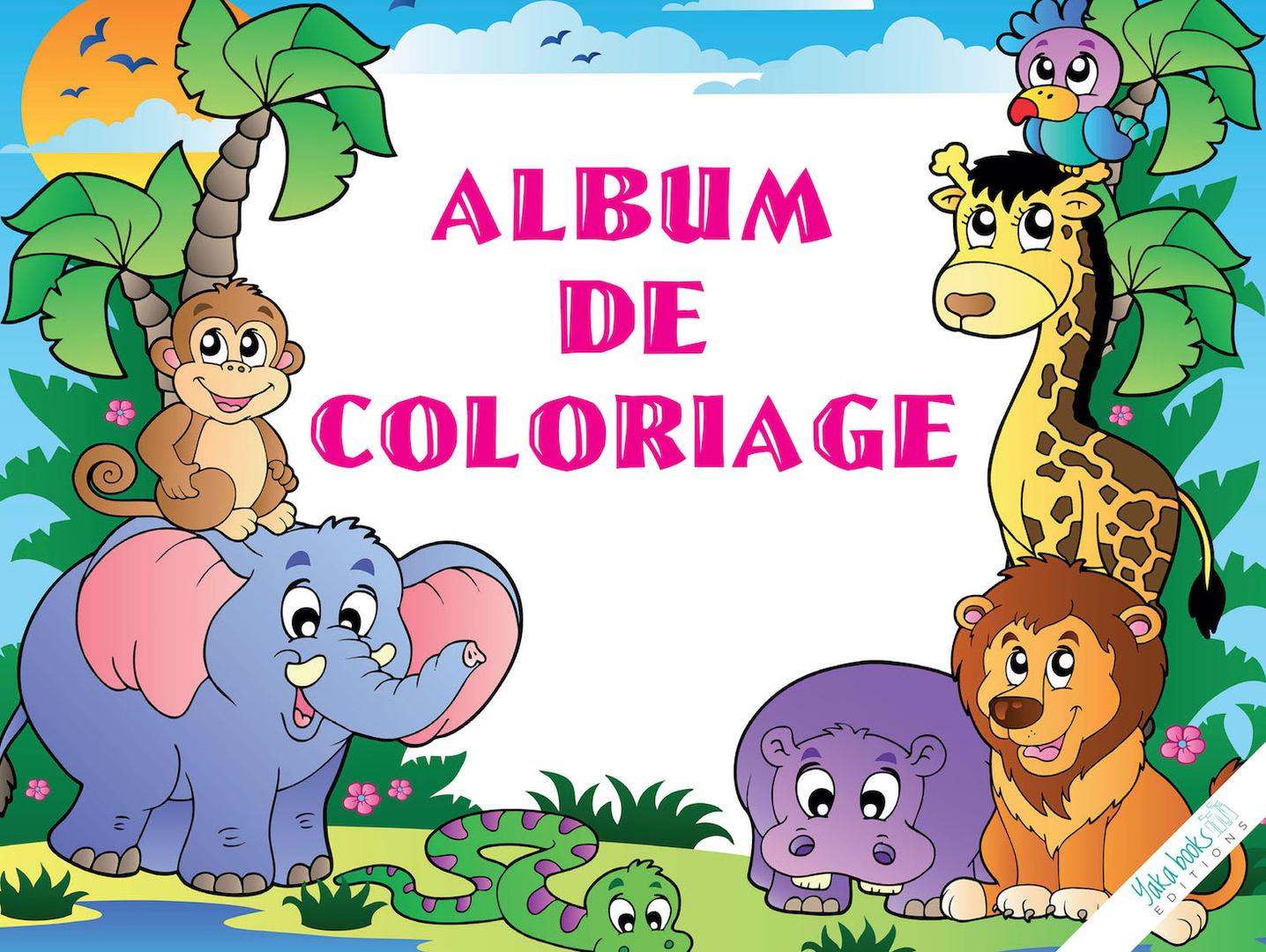 Coloriage Couverture BD