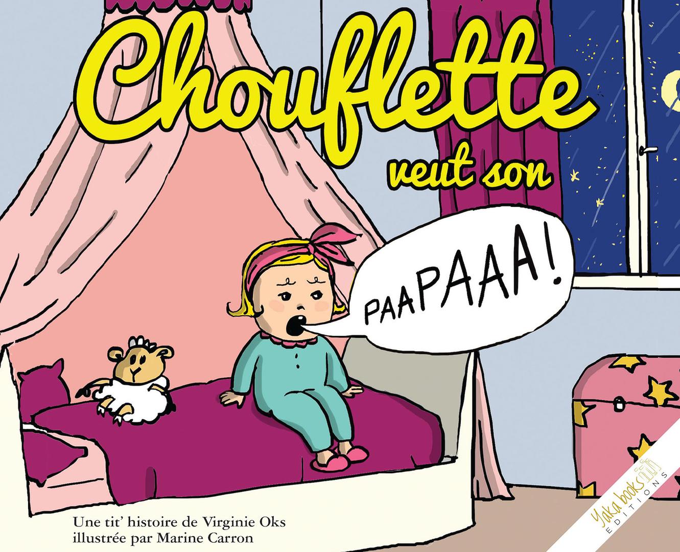 Chouflette couverture BD