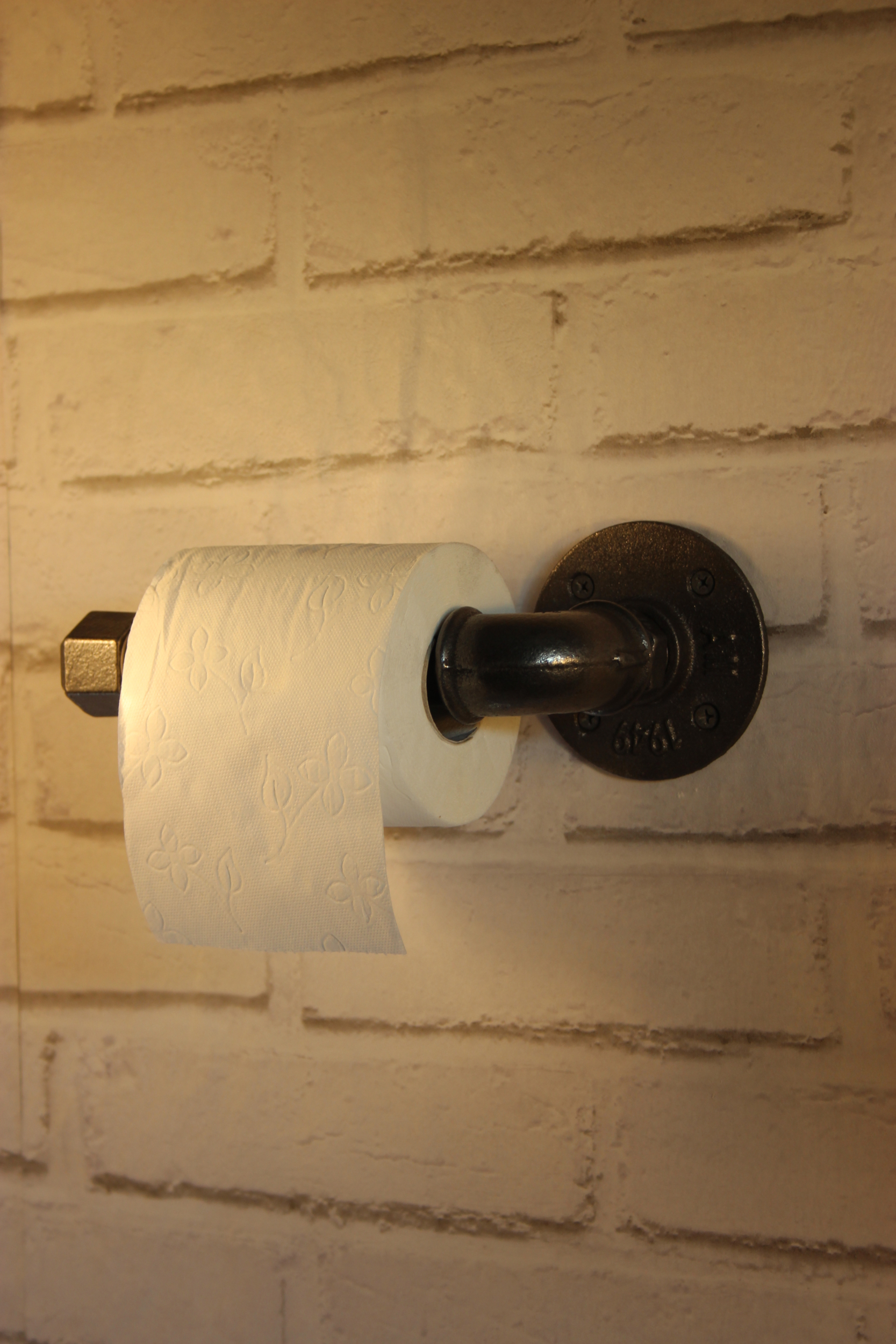 Dérouleur papier toilette simple