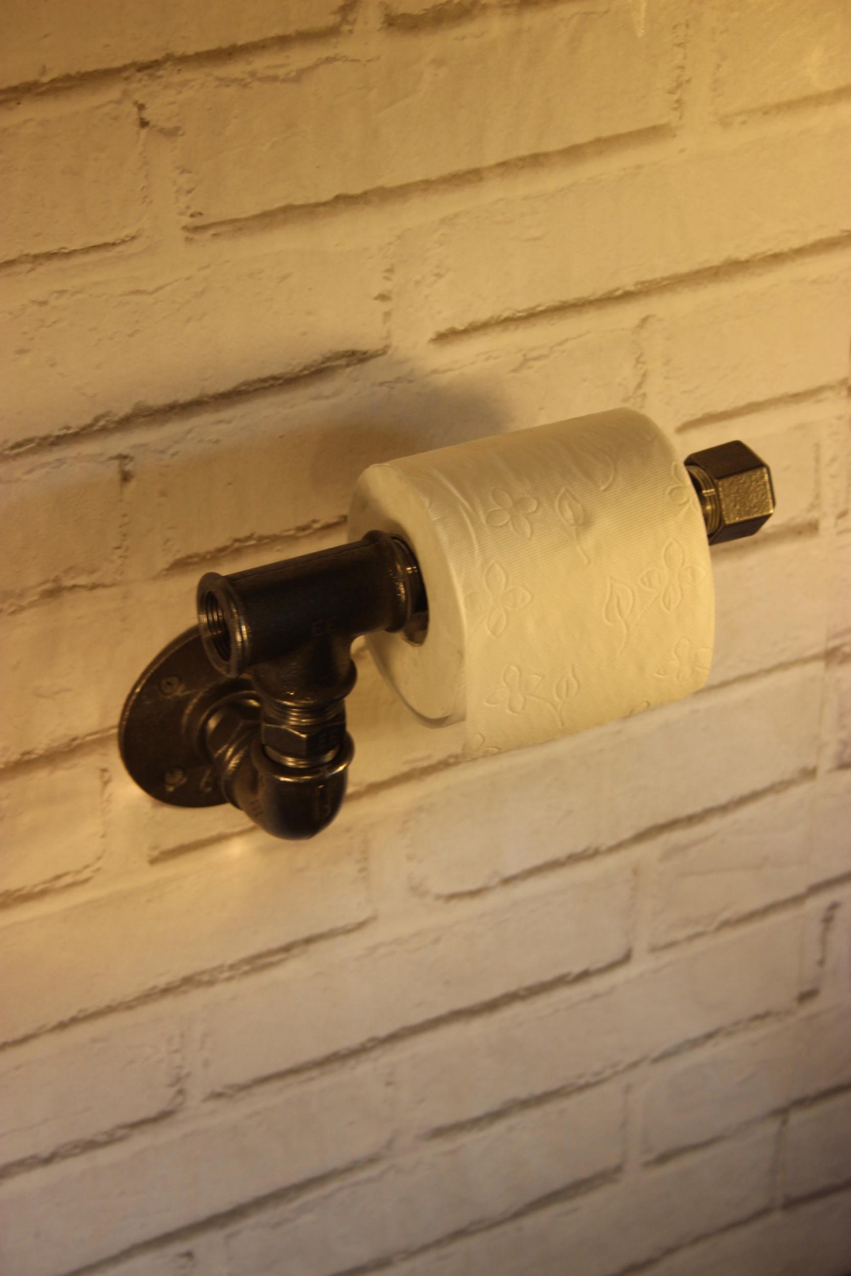 Dérouleur papier toilette simple en T