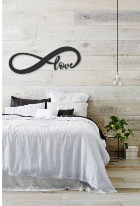 Déco murale Infini love