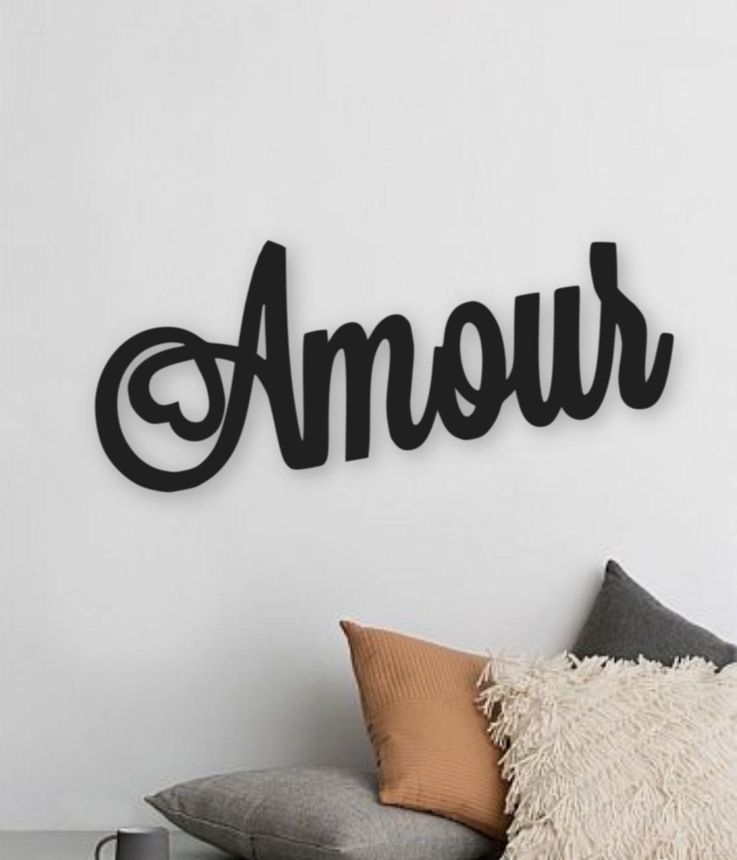 deco murale Amour