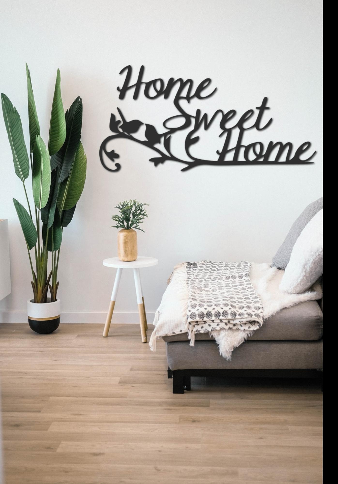Déco murale Home sweet home