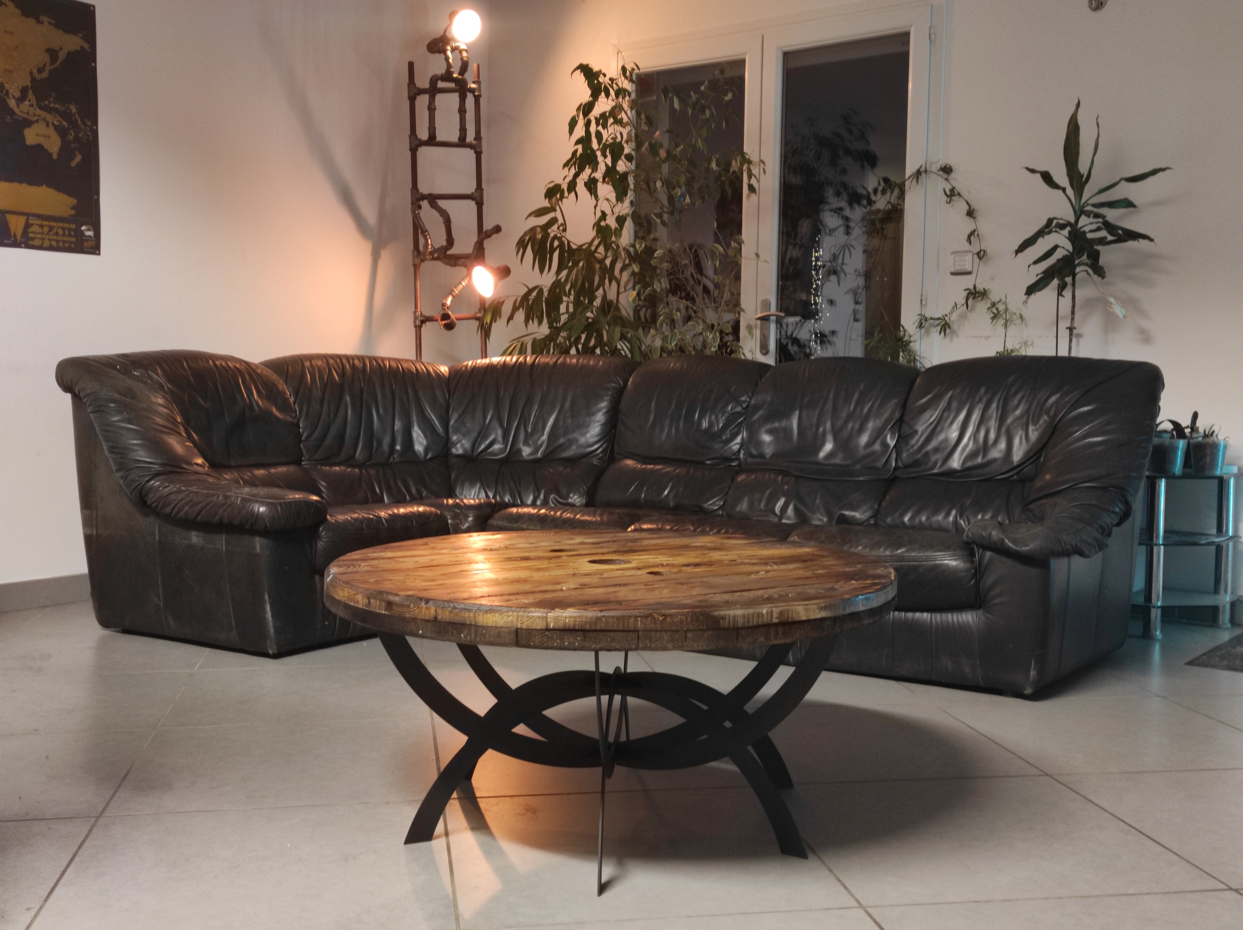 Table Basse Ronde GATE